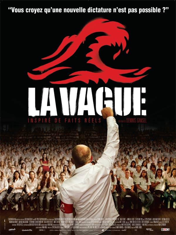 """Affiche du film """"La vague"""" de Dennis Gansel"""